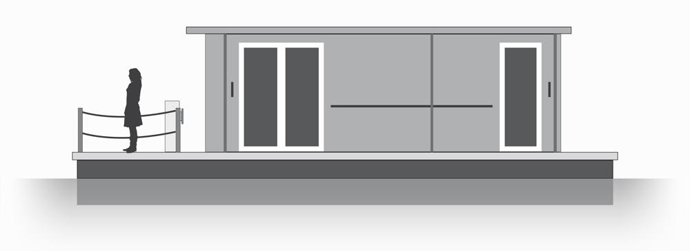 Der Bauplan Steht Kira Hausboot