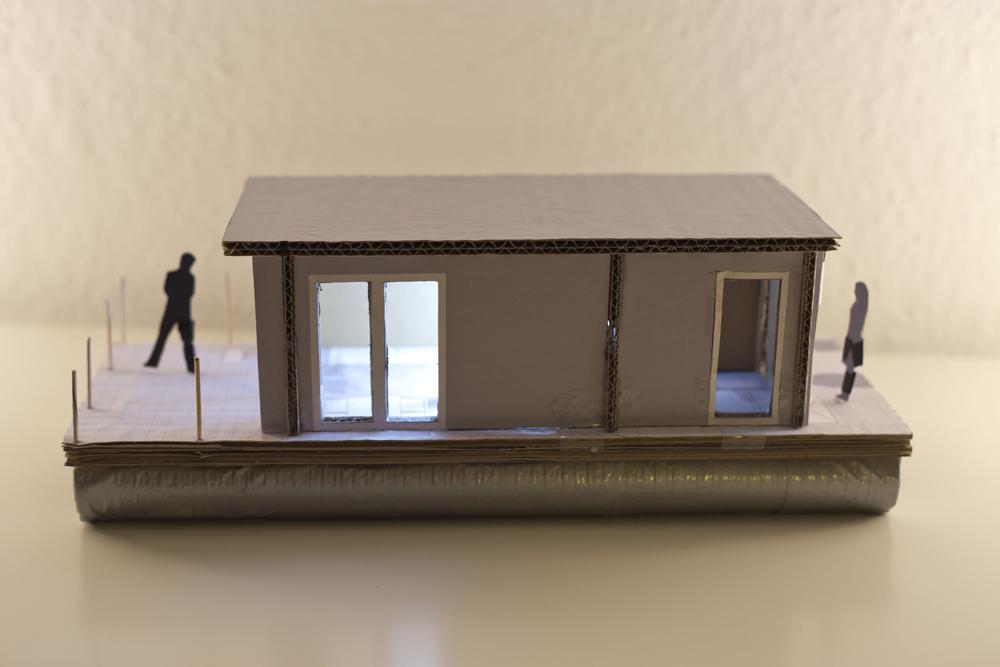 Miniatur - Backbord-Seite