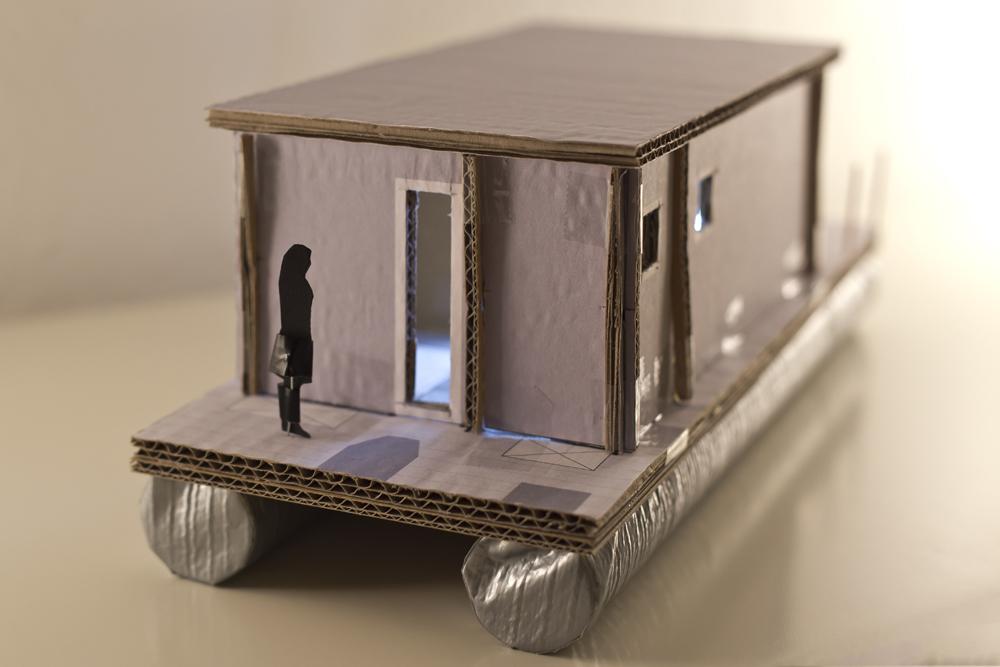 Miniatur - von hinten
