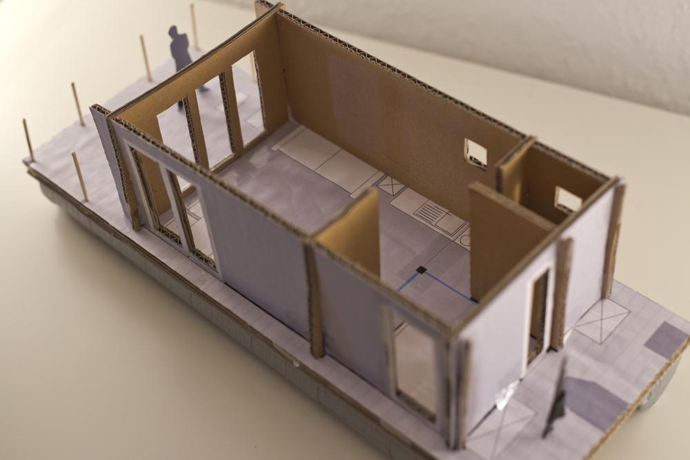 Miniatur - Raum-Ansicht von oben
